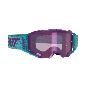 Leatt velocity 5.5 iriz aqua/purple mirror crossbril