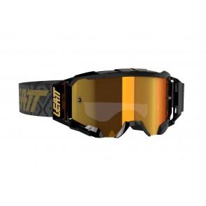Leatt velocity 5.5 iriz black/bronz mirror crossbril