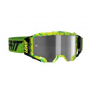 Leatt velocity 5.5 iriz lime/light grey mirror crossbril