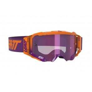 Leatt velocity 5.5 iriz neon orange/purple mirror crossbril