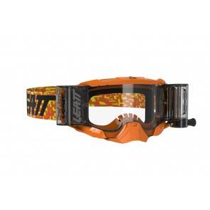 Leatt velocity 5.5 iriz roll-off crossbril orange