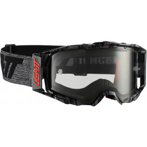 Leatt velocity 6.5 iriz light brushed black grey crossbril