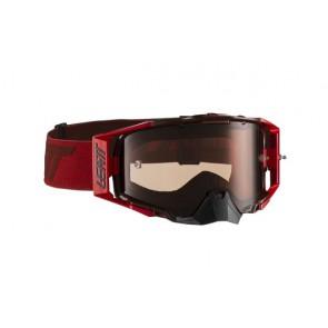 Leatt velocity 6.5 iriz burgundy red crossbril