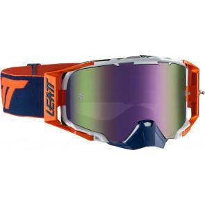 Leatt velocity 6.5 iriz platinum orange purple