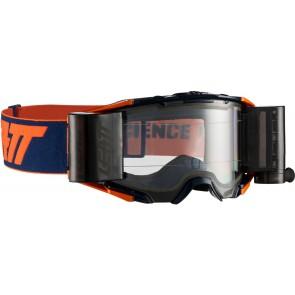 Leatt velocity 6.5 iriz roll-off orange blue crossbril