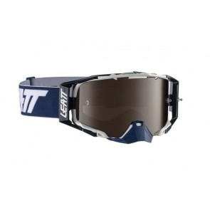 Leatt velocity 6.5 iriz platinum blue white crossbril