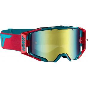 Leatt velocity 6.5 iriz red teal bronze crossbril