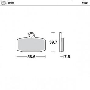 Moto-Master Voorremblokken ktm husq sx tc 85 14-