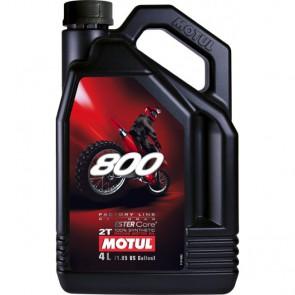 Motul 800 2-Takt Olie Factory Line Off-Road Mengsmering 4l