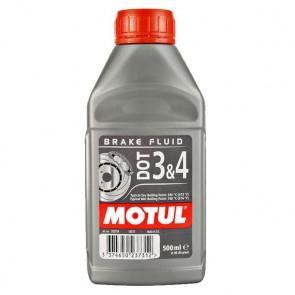 Motul remvloeistof dot 3 en 4 0.5l