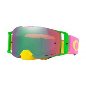 OAKLEY Frontline crossbril flo pink geel prizm