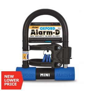 Oxford Alarm-D Mini High Security D-Lock met alarm 120db