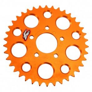 Renthal Ultralight Aluminium oranje achtertandwiel sx50 14-