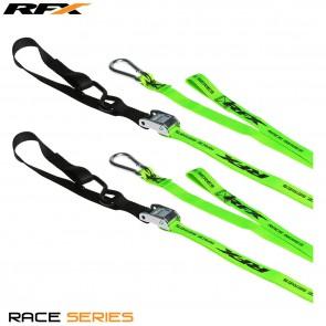 RFX Spanbanden Tiedown Hi/Viz 1.0 Geel/Groen