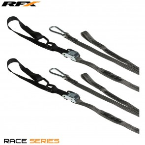 RFX Spanbanden Tiedown Hi/Viz 1.0 Grijs/Zwart