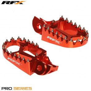 RFX Pro Voetsteunen Oranje ktm exc excf sx sxf 16-19