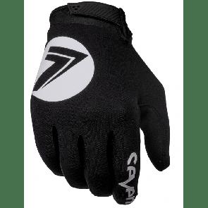 seven annex 7 dot zwart crosshandschoenen