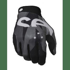 seven zero crossover grey black crosshandschoenen