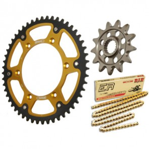 Supersprox DID/regina kettingset suzuki rmz 450 05-12