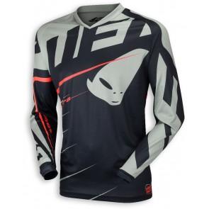 Ufo 2018 Hydra cross shirt zwart/grijs