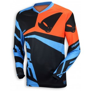 Ufo 2018 Vanguard cross shirt blauw/oranje