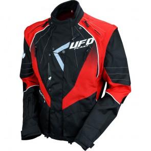 Ufo Ranger Enduro Jas rood/zwart 2019