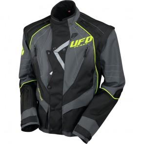 Ufo Ranger Enduro Jas zwart-grijs 2019