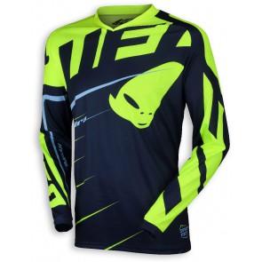 Ufo 2018 Hydra cross shirt blauw/geel