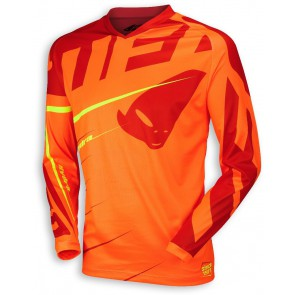 Ufo 2018 Hydra cross shirt oranje/rood