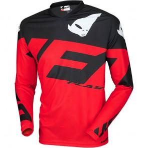 Ufo mizar cross shirt rood/zwart 2019