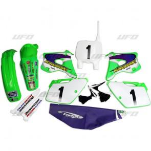 Ufo Plastic Kit emig team usa kawasaki kx 125 250 94-98