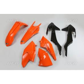 Ufo Plastic Kit ktm exc exc-f enduro 17-19