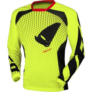 Ufo proton cross shirt fluor geel 2019