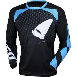 Ufo proton cross shirt blauw/zwart 2019