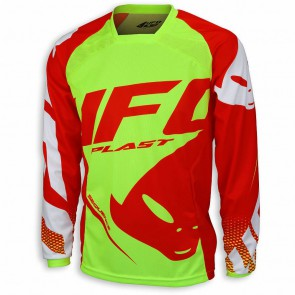 Ufo 2018 sequence cross shirt rood/geel