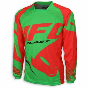 Ufo 2018 sequence cross shirt rood/groen