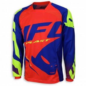 Ufo 2018 sequence cross shirt blauw/rood