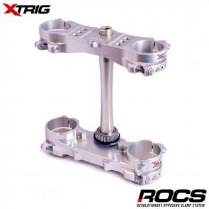 Xtrig Rocs Tech Silver Kroonplaten Offset 20 crf250 14-17 450 13-16